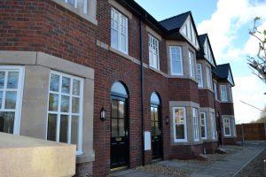 New housing Hope Gardens, Hope Park Macclesfield