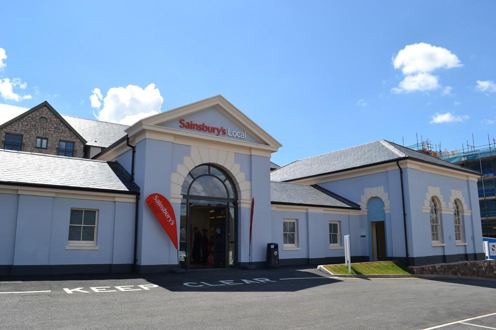 Sainsbury's Local Store, Newton Abbot, Devon